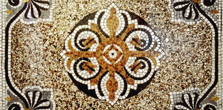 Mosaikrekonstruktion und Terrazzosanierung